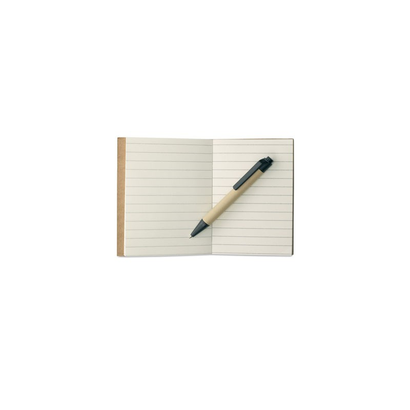 Carnet de notes et mini-stylo ECO