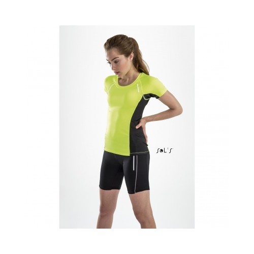 Tee-shirt running pour femme à manches courtes SO
