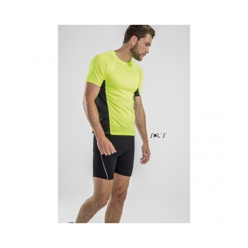 Tee-Shirt running pour hommes à manches courtes