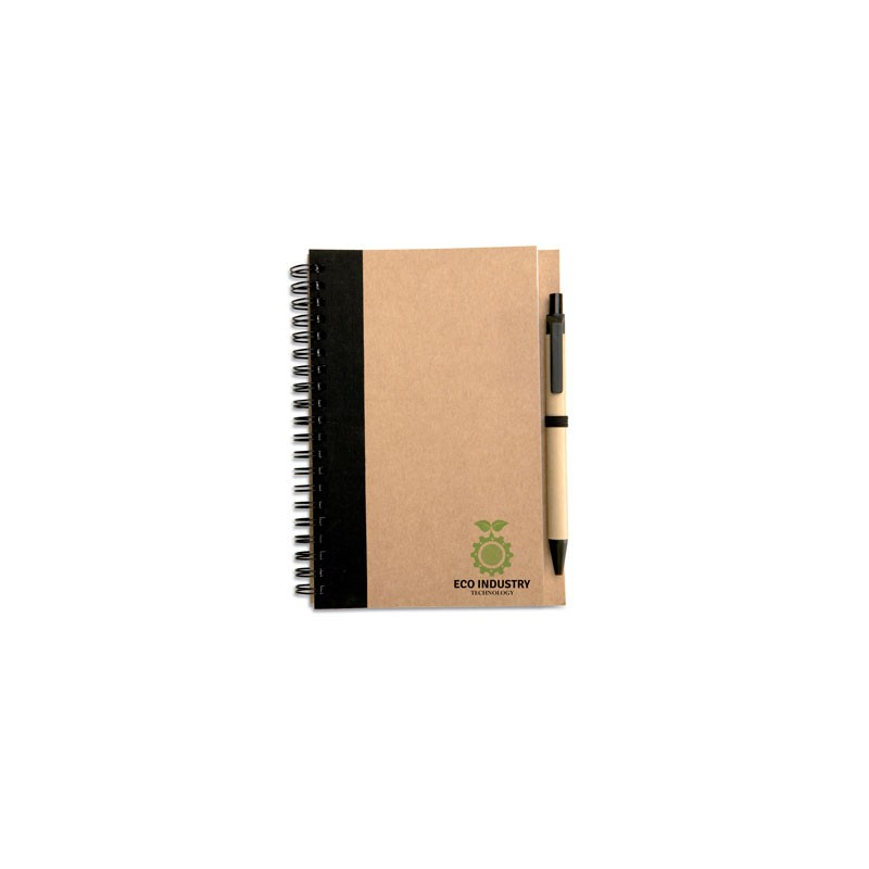 Carnet de notes ECO recyclé et stylo