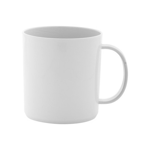 Mug traditionnel en plastique