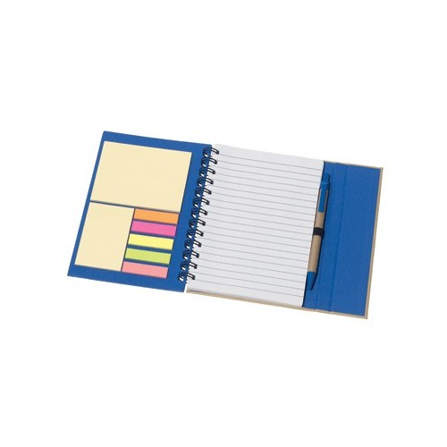 Carnet de notes ECO avec stickers repositionnables