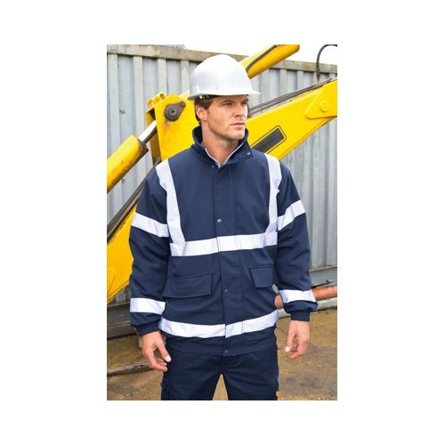 SAFETY PADDED SOFT-SHELL BLOUSON