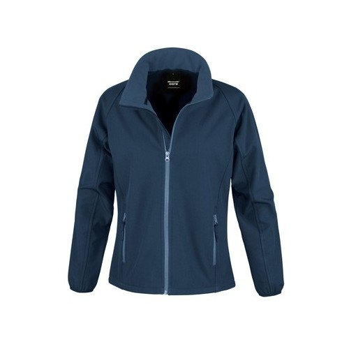 WOMENS PRINTABLE SOFT-SHELL JACKET